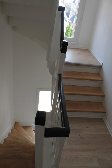 Sanierte Treppe