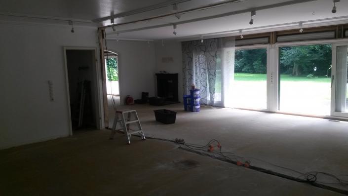 Vollständige Renovierung einer Immobilie