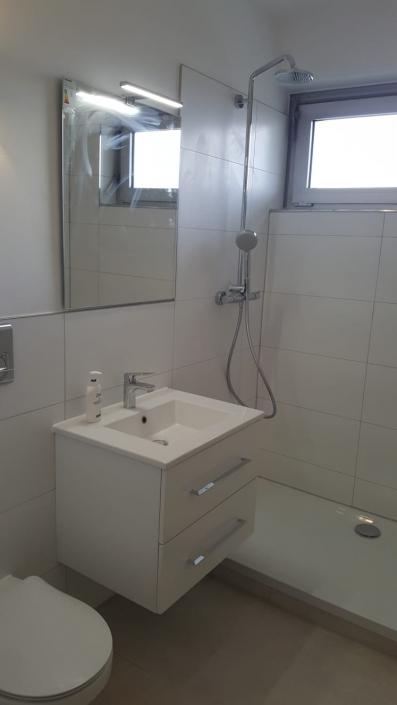 Badezimmerrenovierung