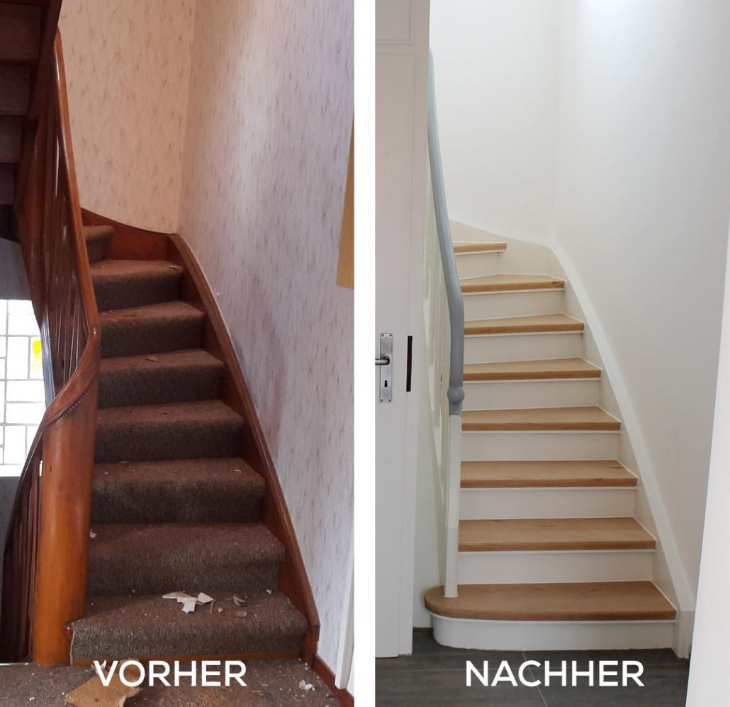 alte treppen neu gestalten